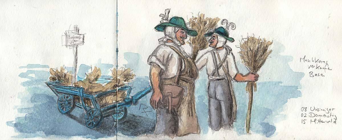 Mittenwalder Maschkeras verkaufen Besen