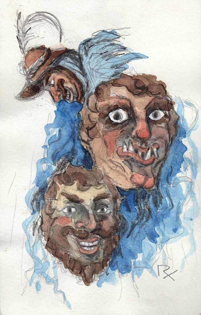 Murnauer Fasnachts-Masken
